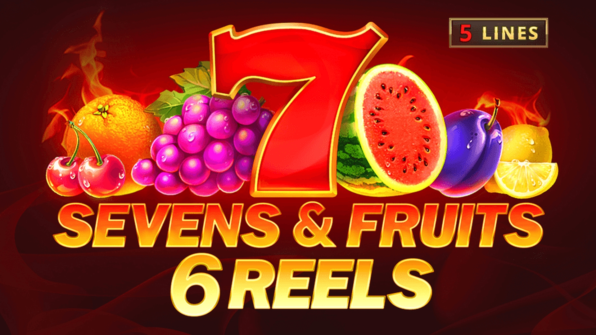 Reels in Sevens and Fruits: 6 Reels Slot Game by Playson