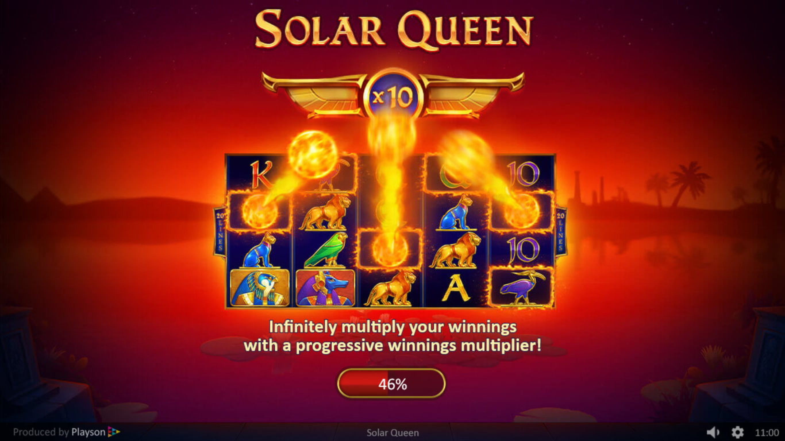 The Solar Queen Online Slot Demo Game by Playson