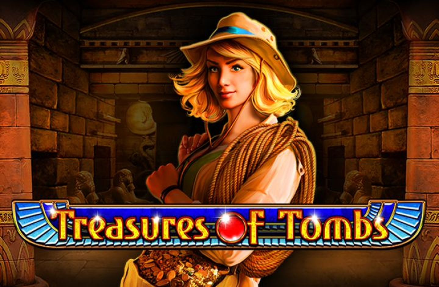 The Treasure of Tombs Online Slot Demo Game by Playson