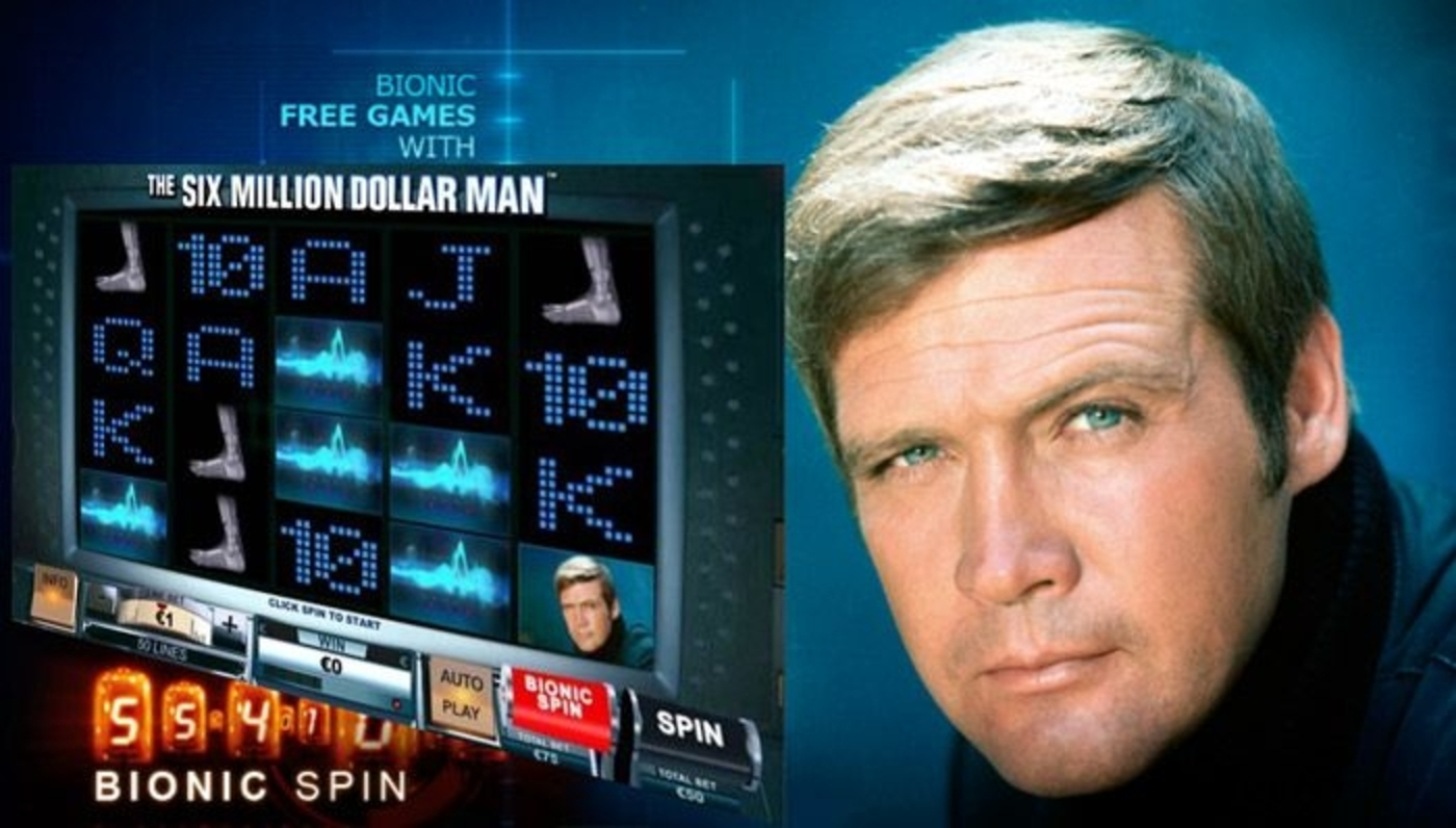 The 6 million Dollar Man Online Slot Demo Game by Playtech