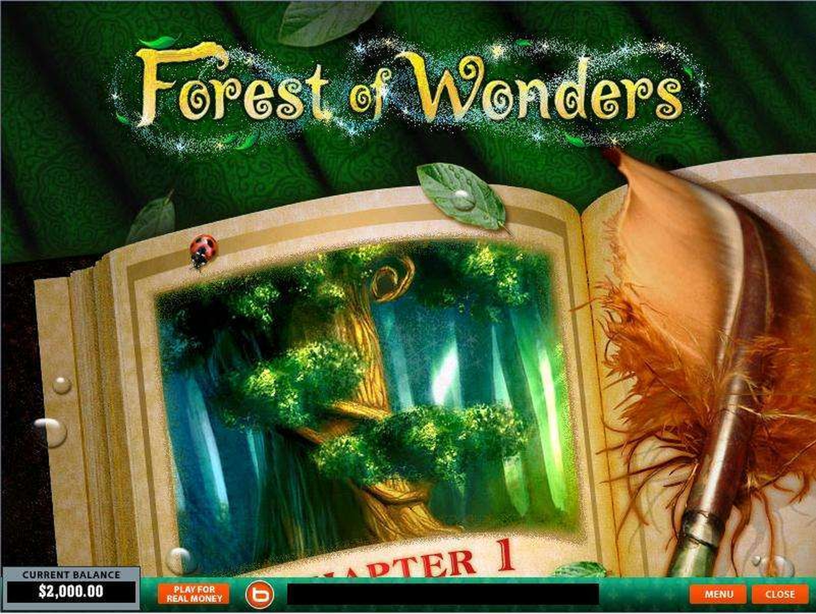 The Forest of Wonders Online Slot Demo Game by Playtech