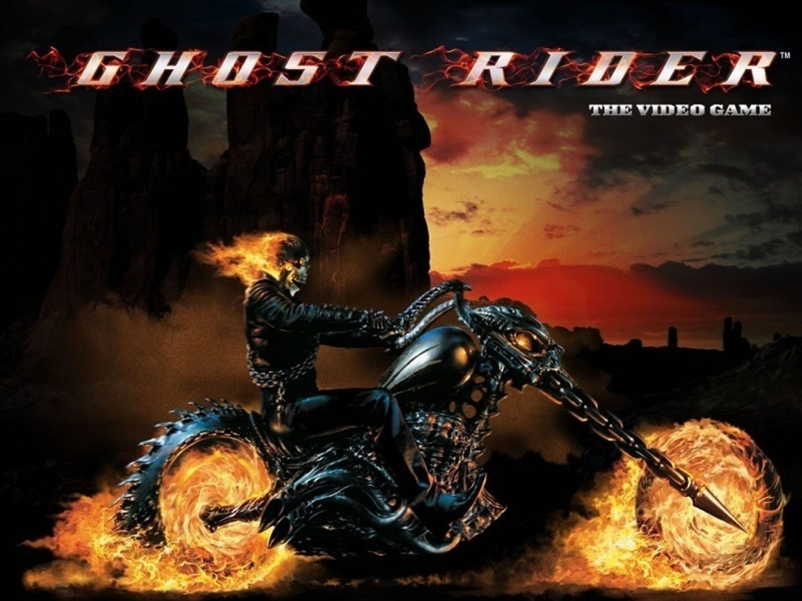 The Ghost Rider Online Slot Demo Game by Playtech