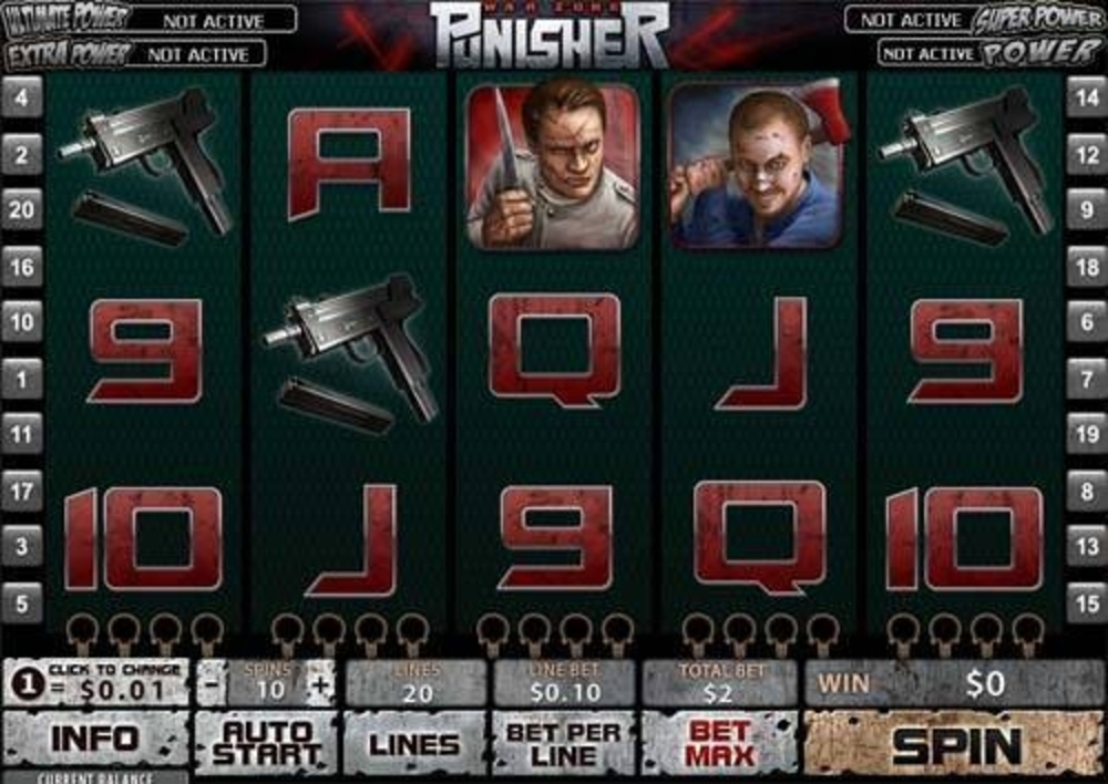The The Punisher Online Slot Demo Game by Playtech