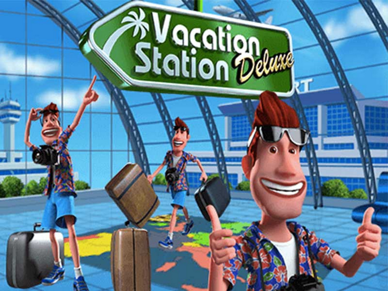 The Vacation Station Deluxe Online Slot Demo Game by Playtech