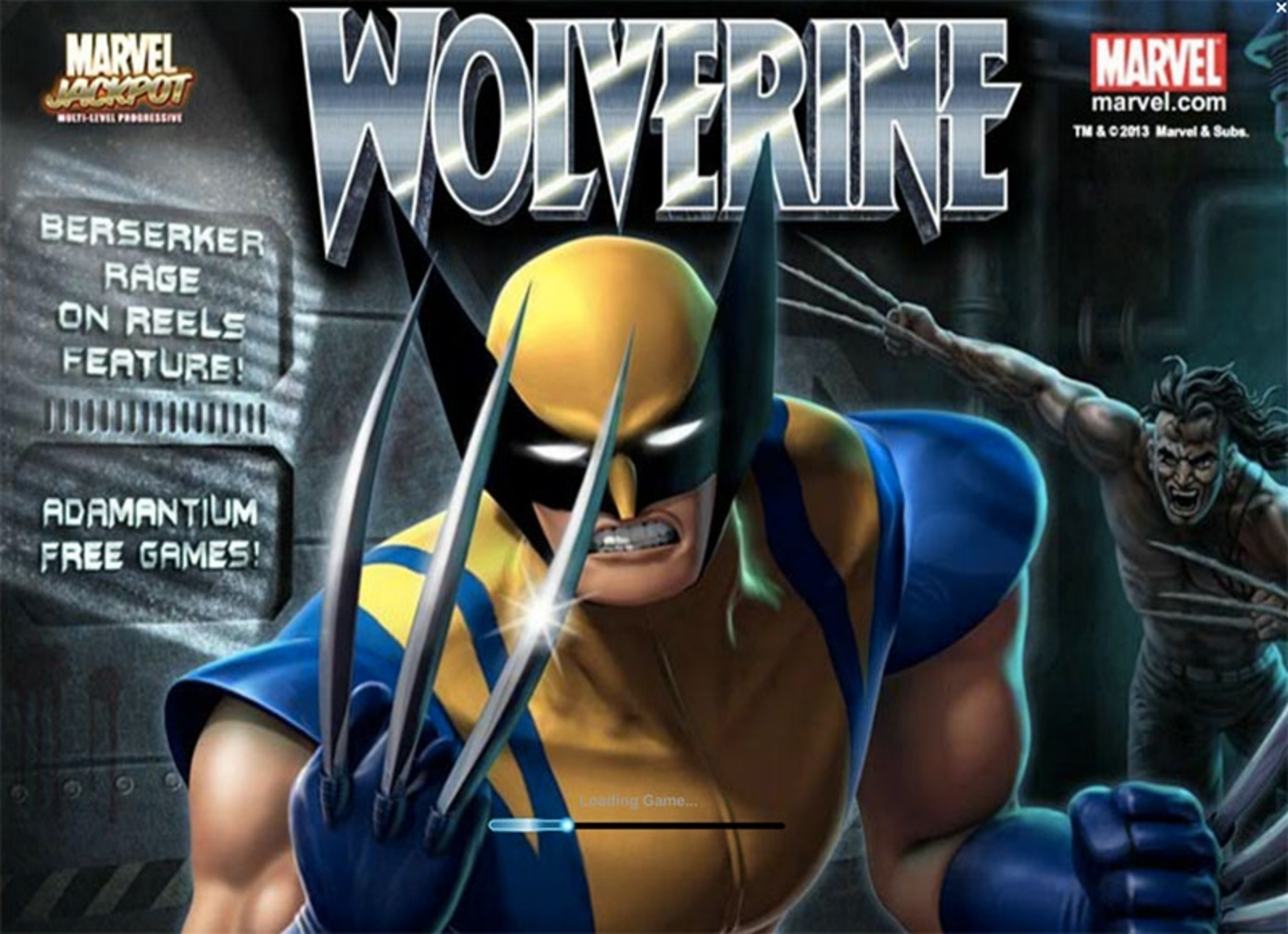 The Wolverine Online Slot Demo Game by Playtech