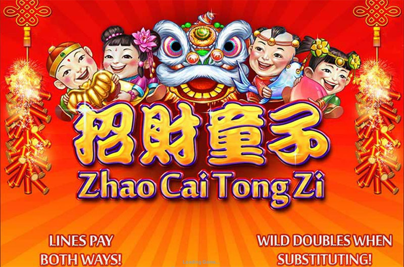 The Zhao Cai Tong Zi Online Slot Demo Game by Playtech