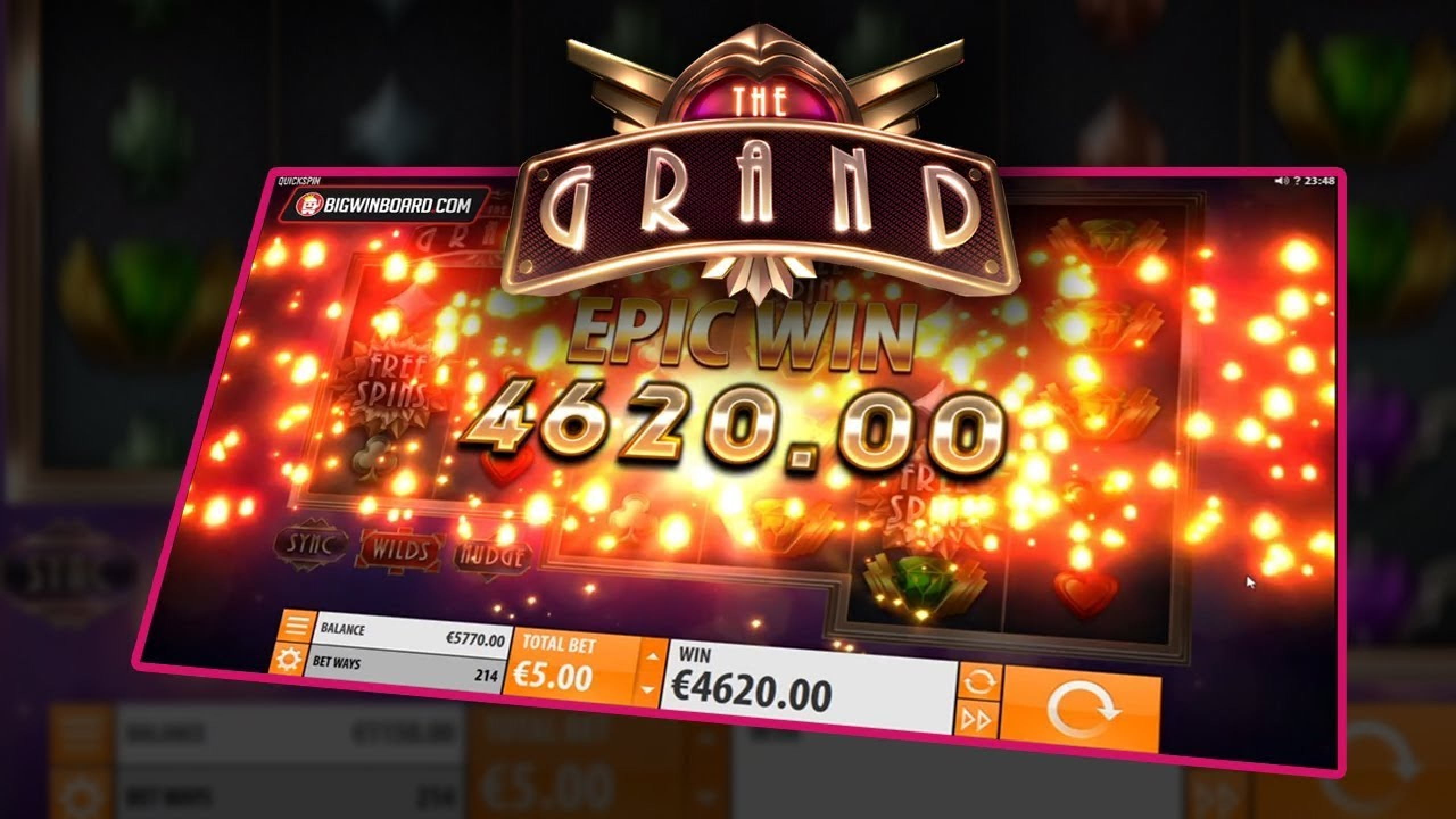 The The Grand Online Slot Demo Game by Quickspin