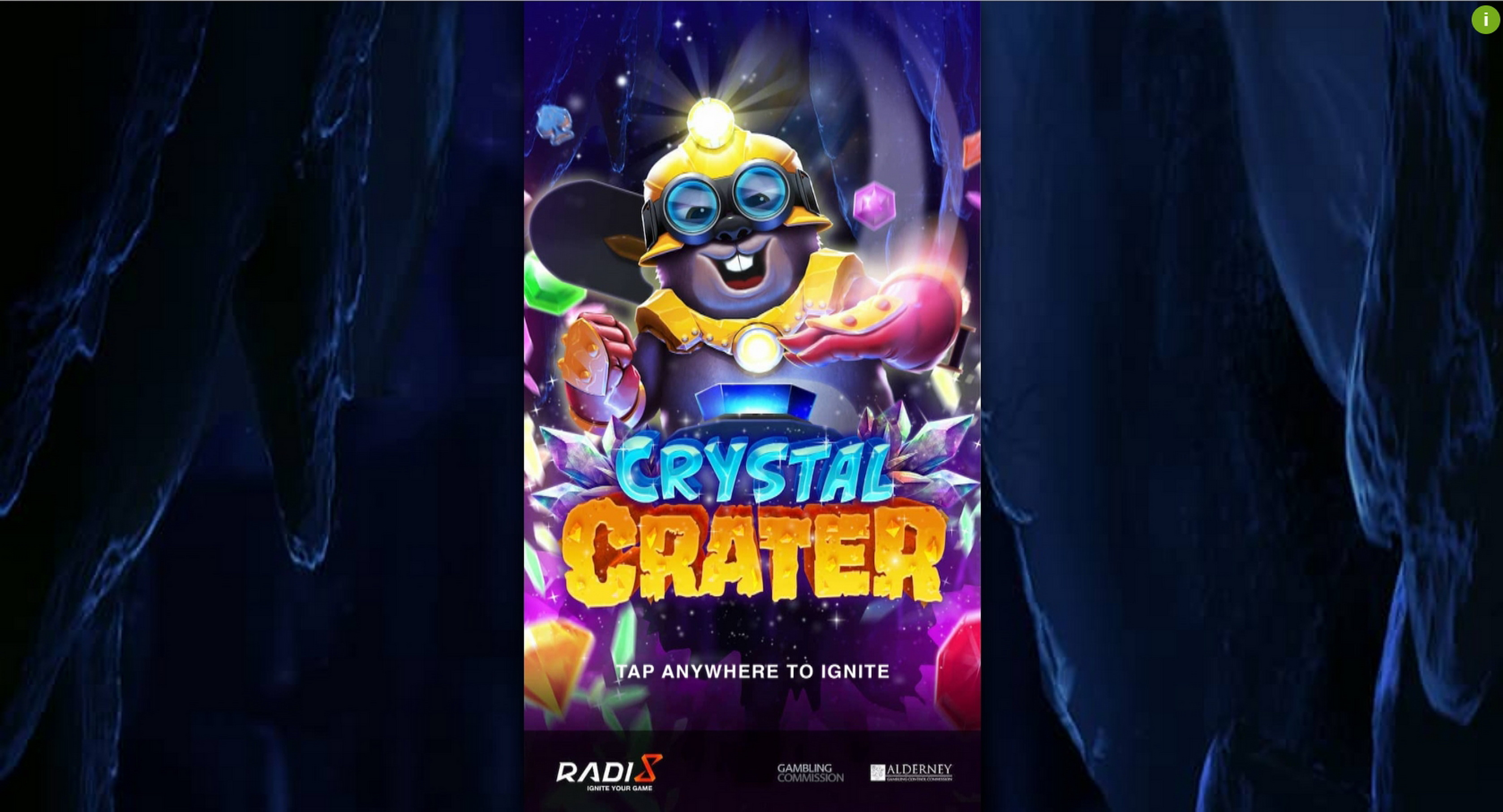 Play Crystal Crater Free Casino Slot Game by Radi8