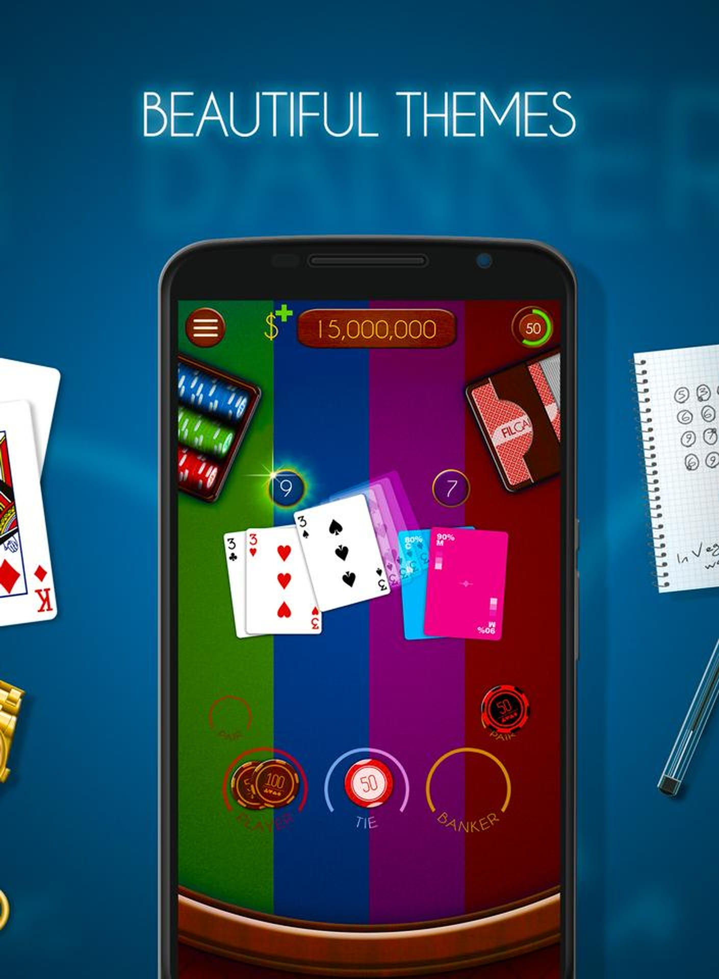 The Baccarat (Realistic) Online Slot Demo Game by Realistic Games