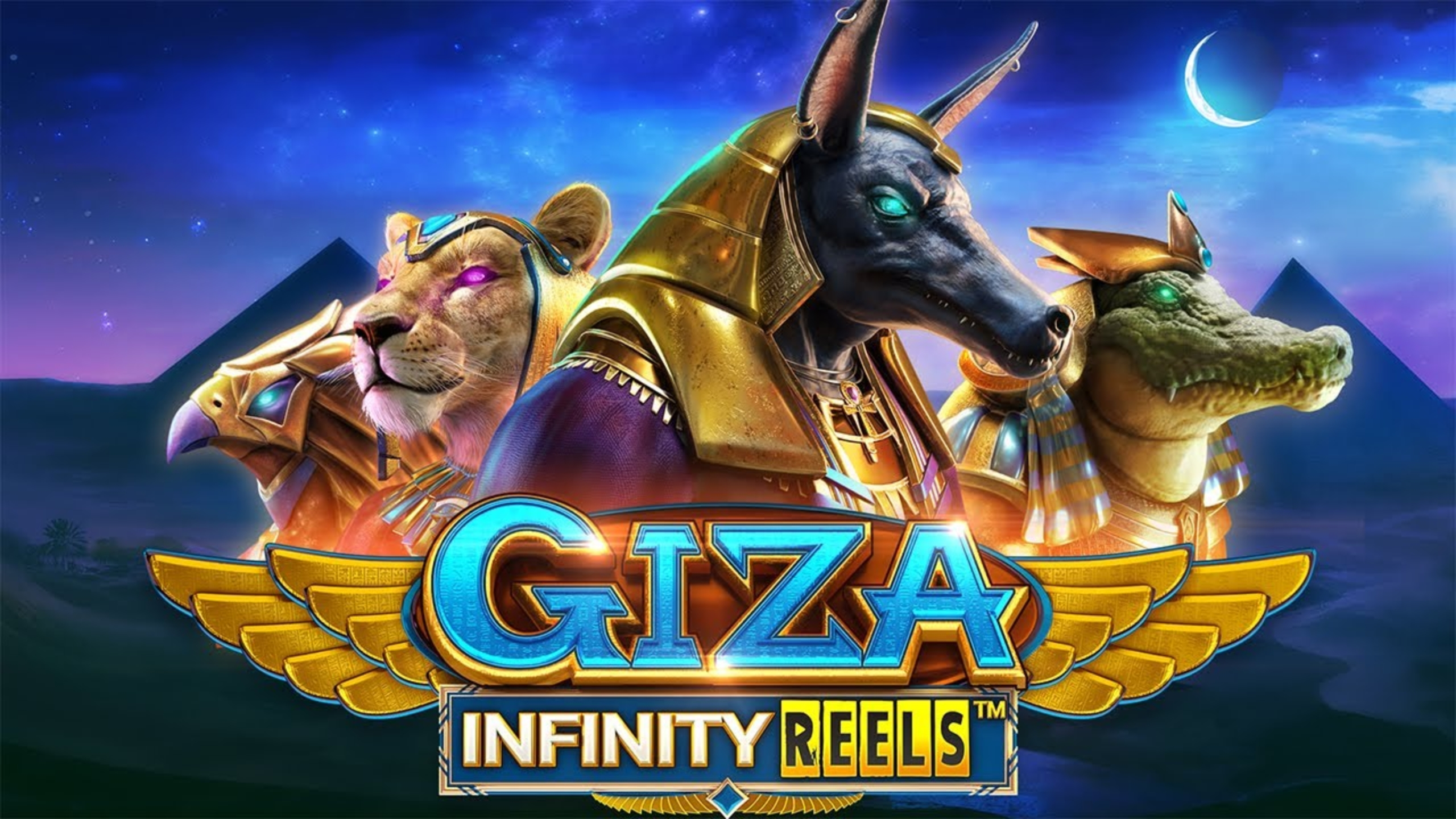 Reels in Giza Infinity Reels Slot Game by Reel Play