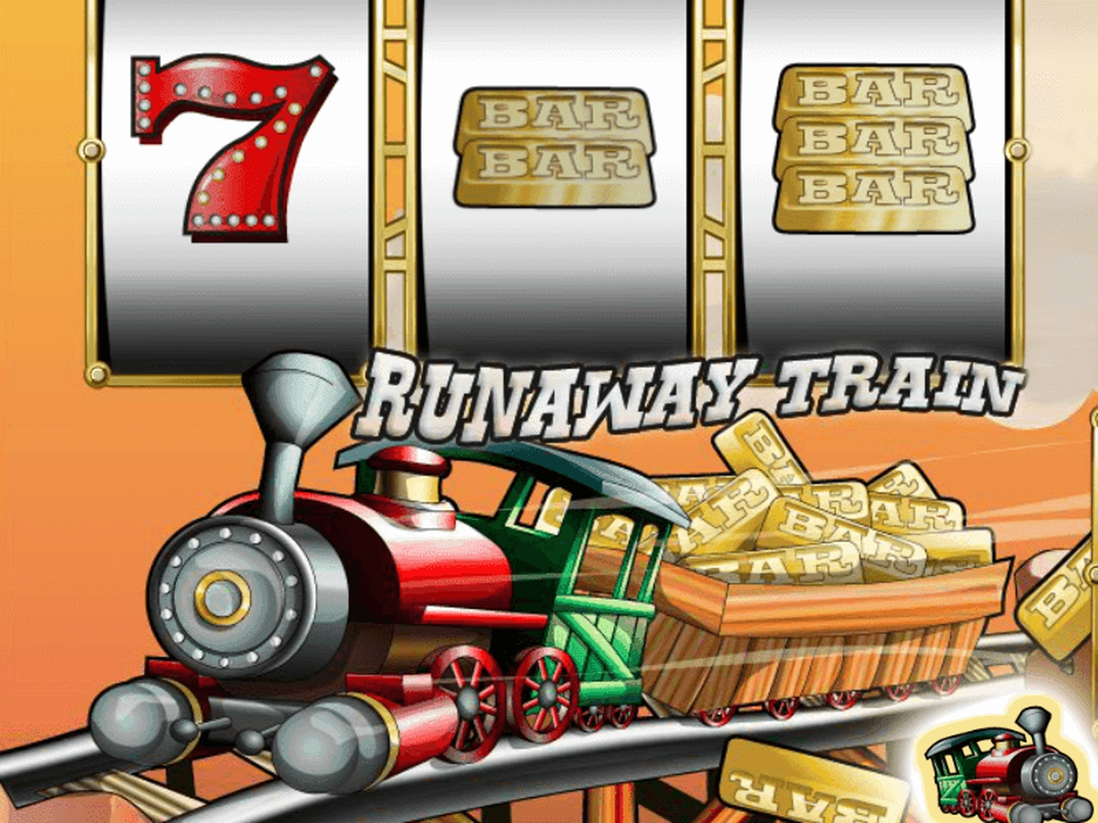The Runaway Train Online Slot Demo Game by saucify