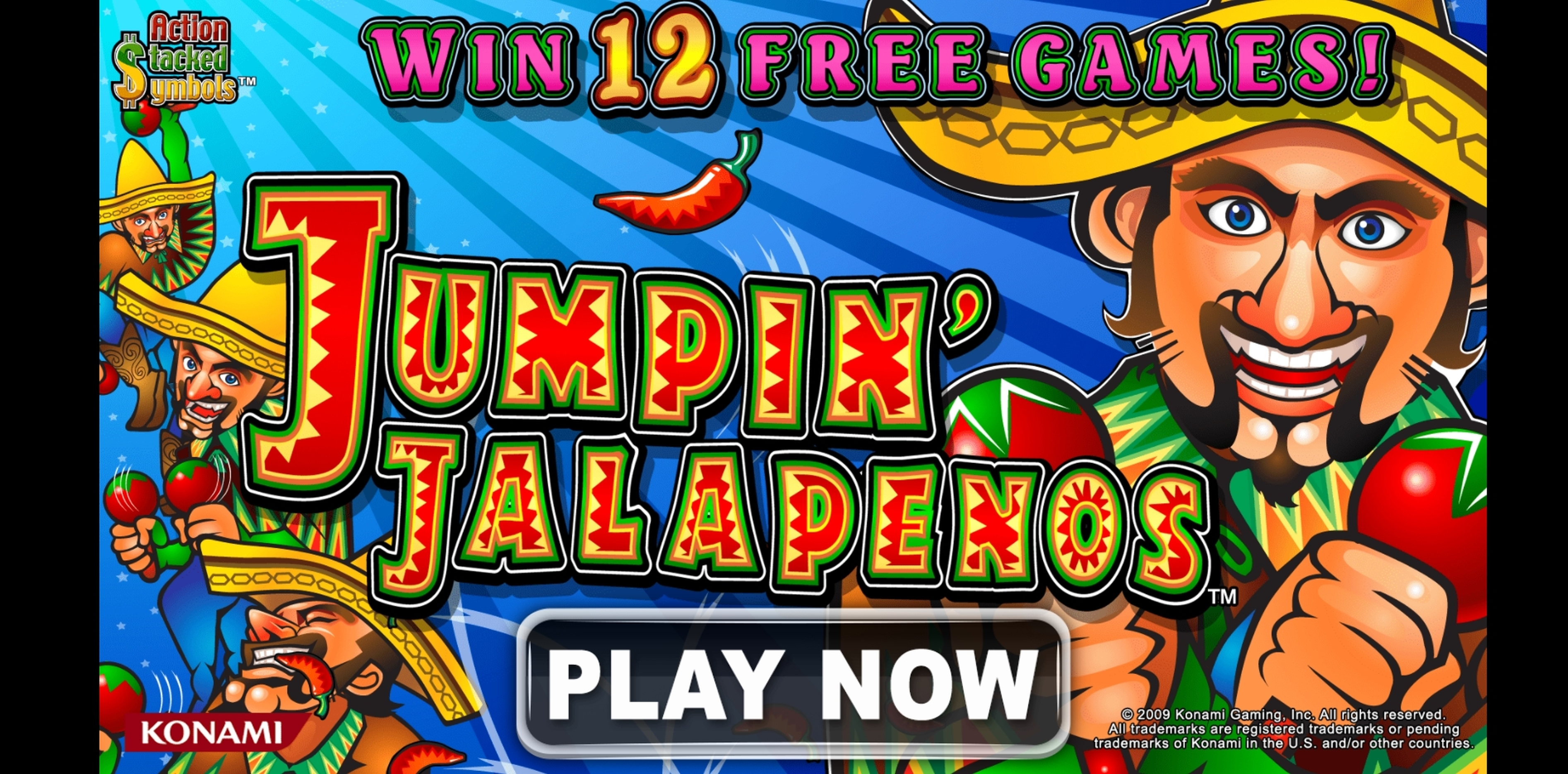 Play Jumpin Jalapenos Free Casino Slot Game by WMS