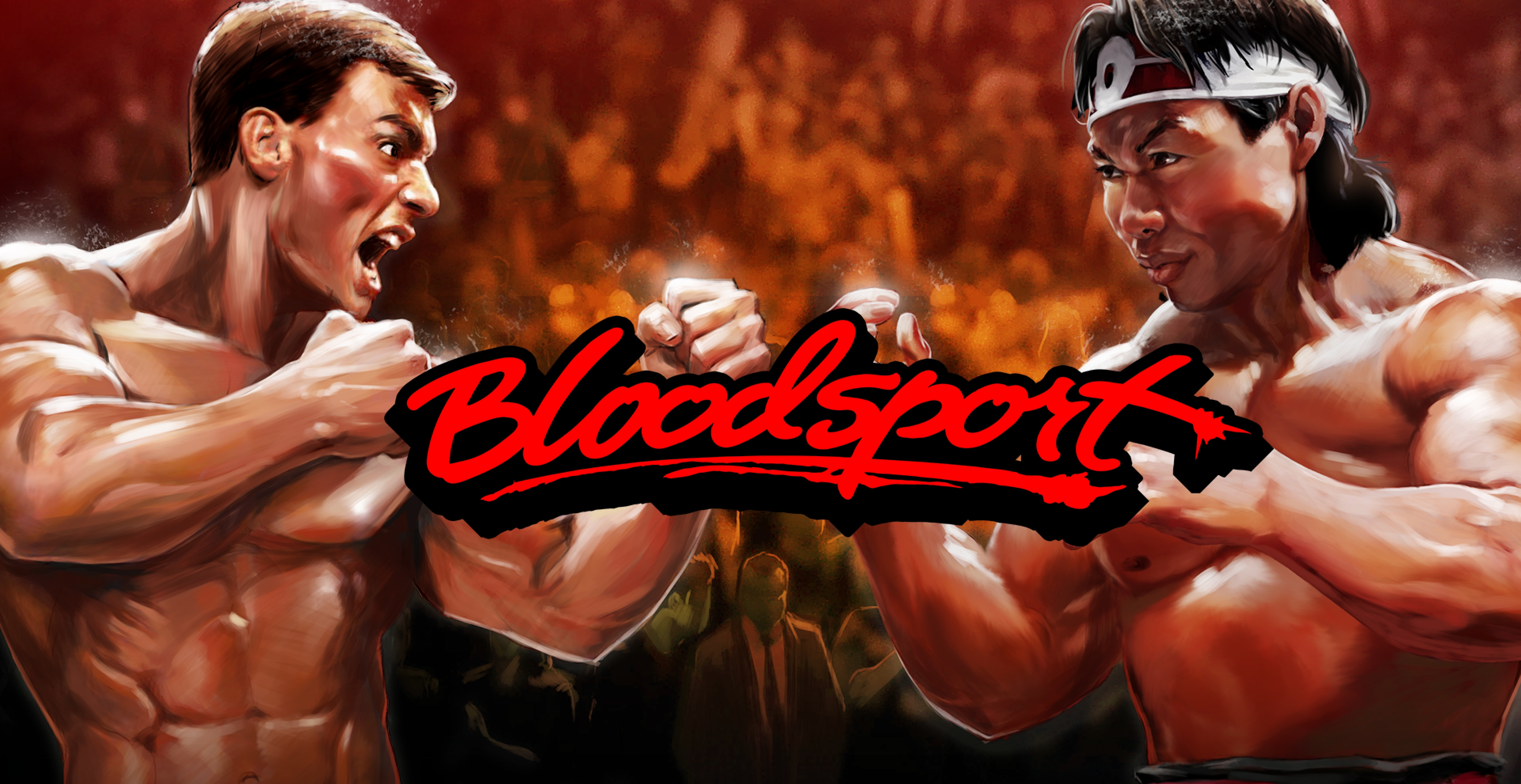 Win Money in Bloodsport Free Slot Game by Skywind