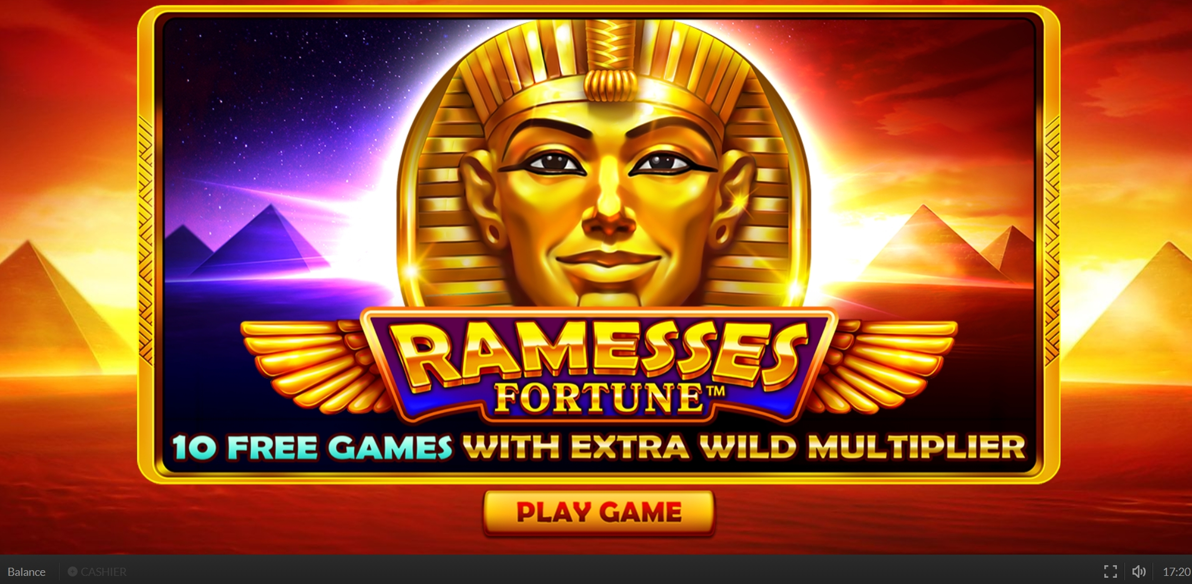 Win Money in Ramesses Fortune Free Slot Game by Skywind