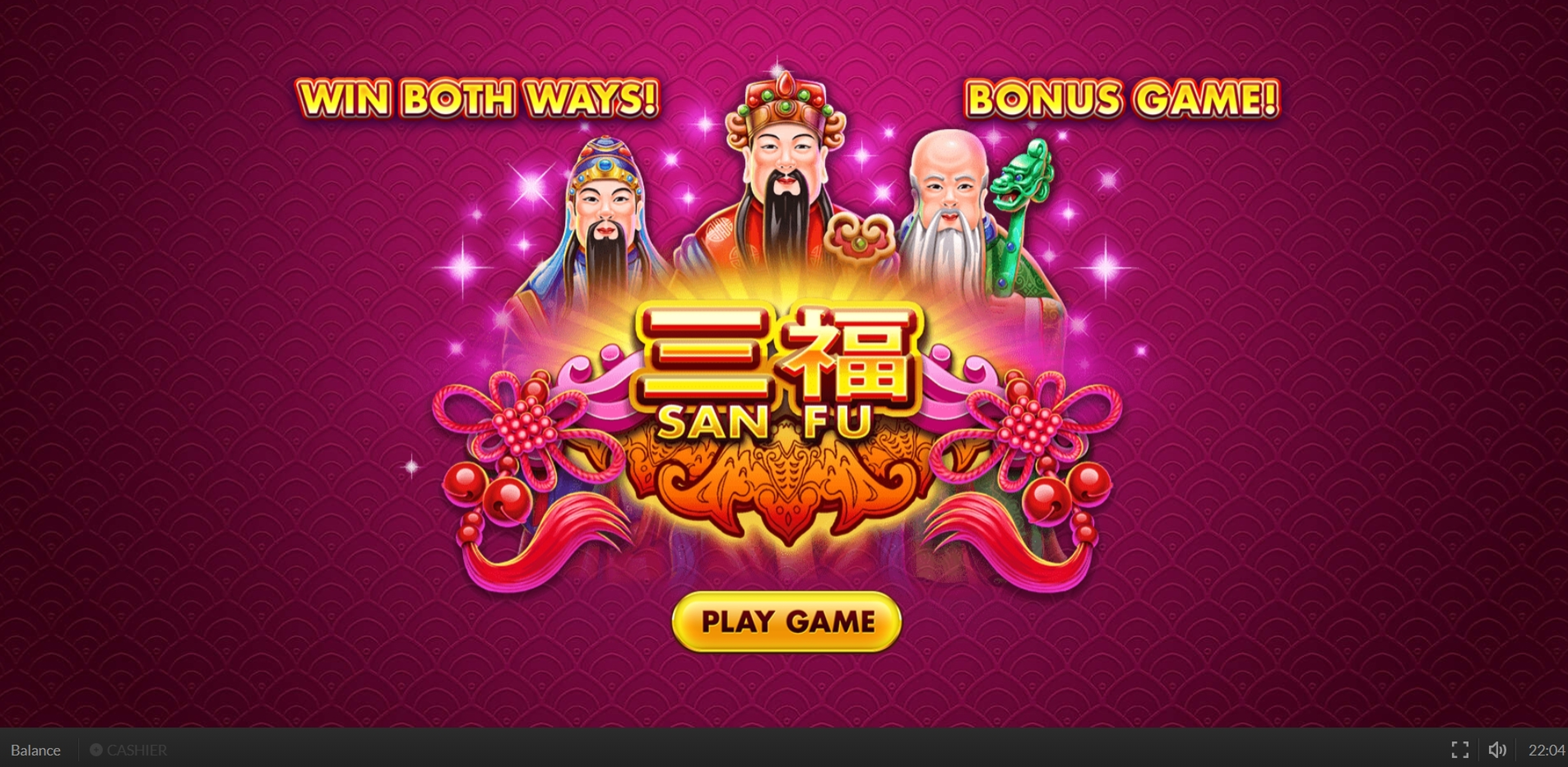Win Money in San Fu Free Slot Game by Skywind