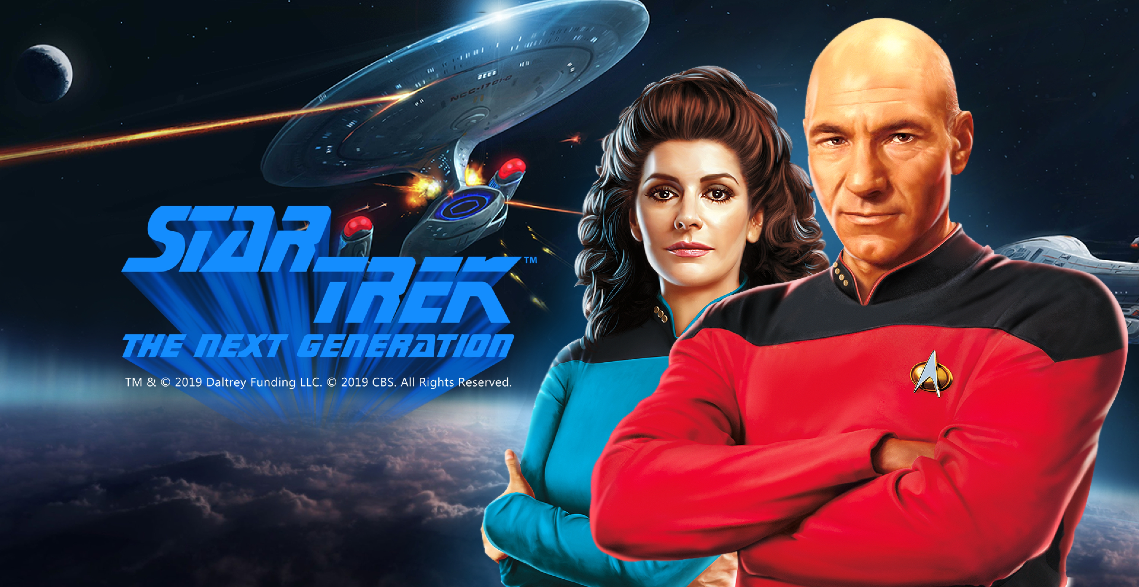 Win Money in Star Trek: The Next Generation Free Slot Game by Skywind