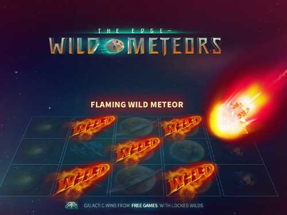 Win Money in The Edge – Wild Meteors Free Slot Game by Skywind