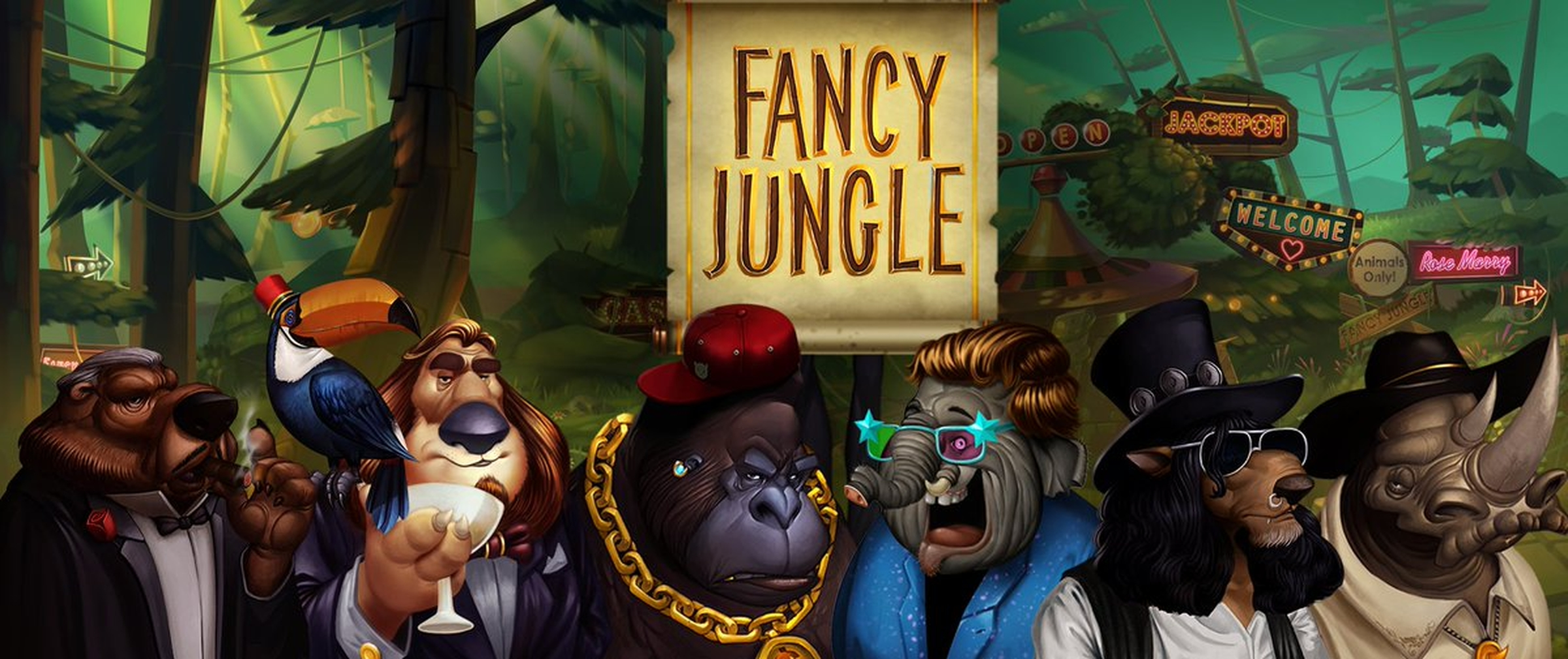 The Fancy Jungle Online Slot Demo Game by Spinmatic