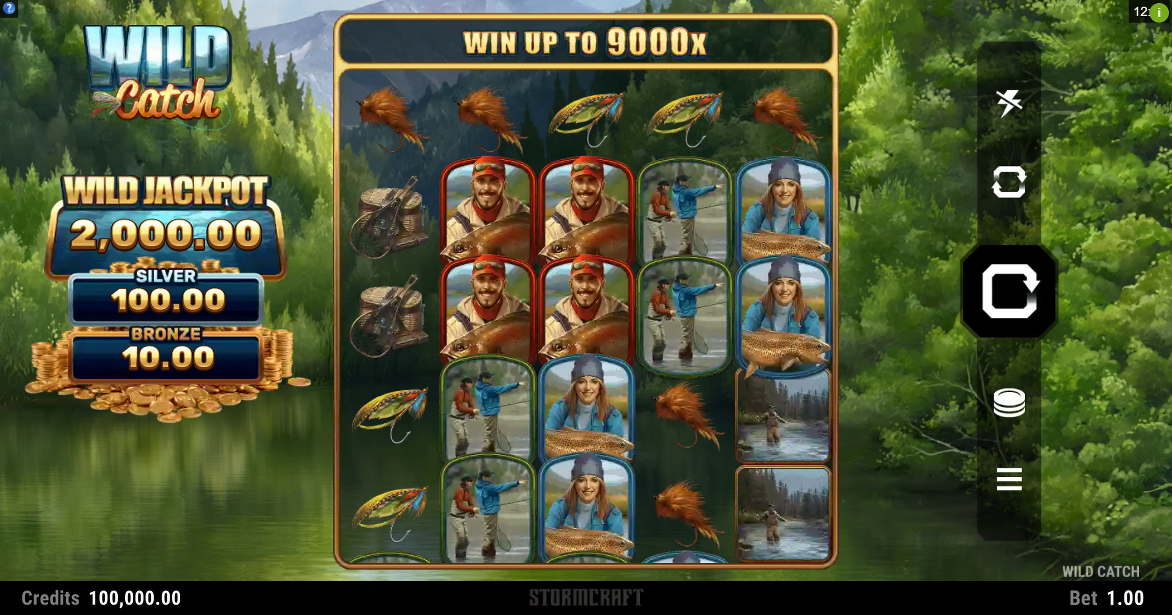 Reels in Wild Catch (Stormcraft Studios) Slot Game by Stormcraft Studios