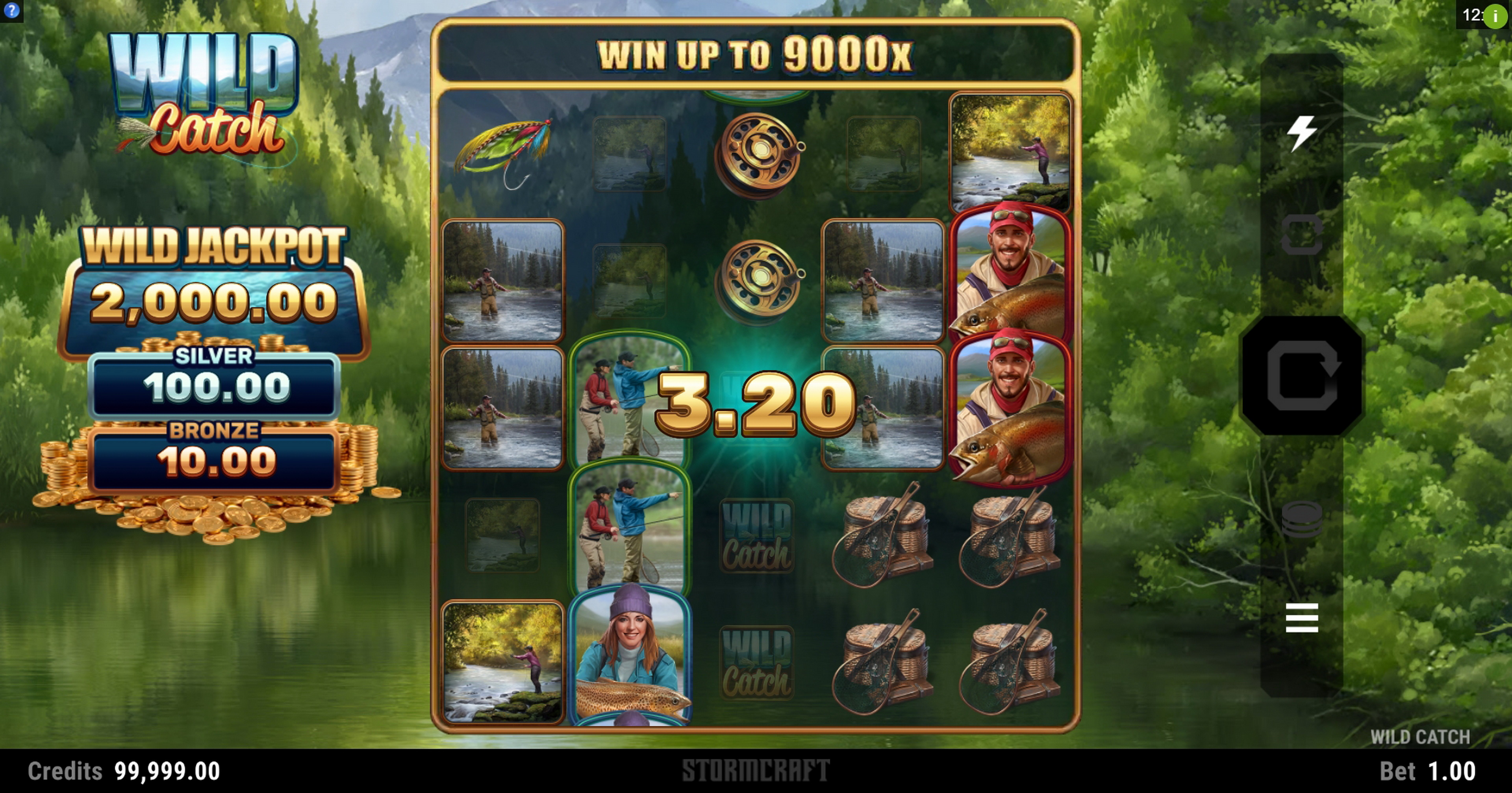 Win Money in Wild Catch (Stormcraft Studios) Free Slot Game by Stormcraft Studios