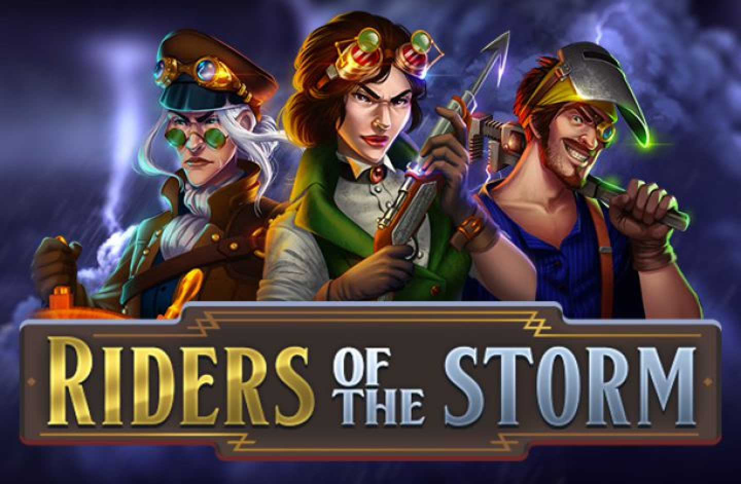 The Riders of the Storm Online Slot Demo Game by Thunderkick