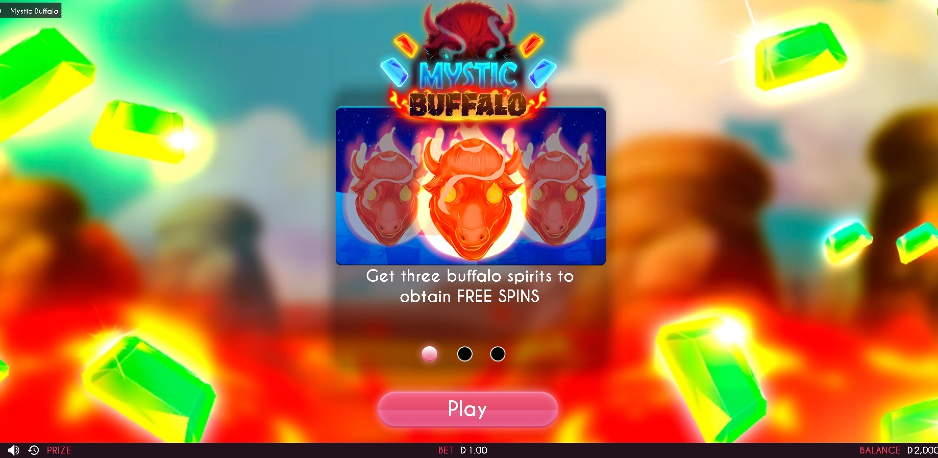 Play Mystic Buffalo Free Casino Slot Game by Triple Cherry