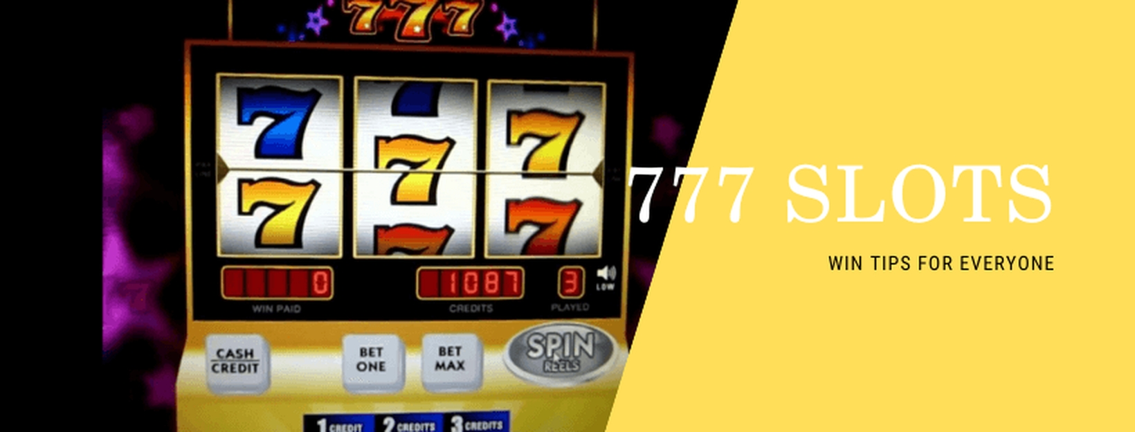 The 777 Slot Online Slot Demo Game by Triple Profits Games