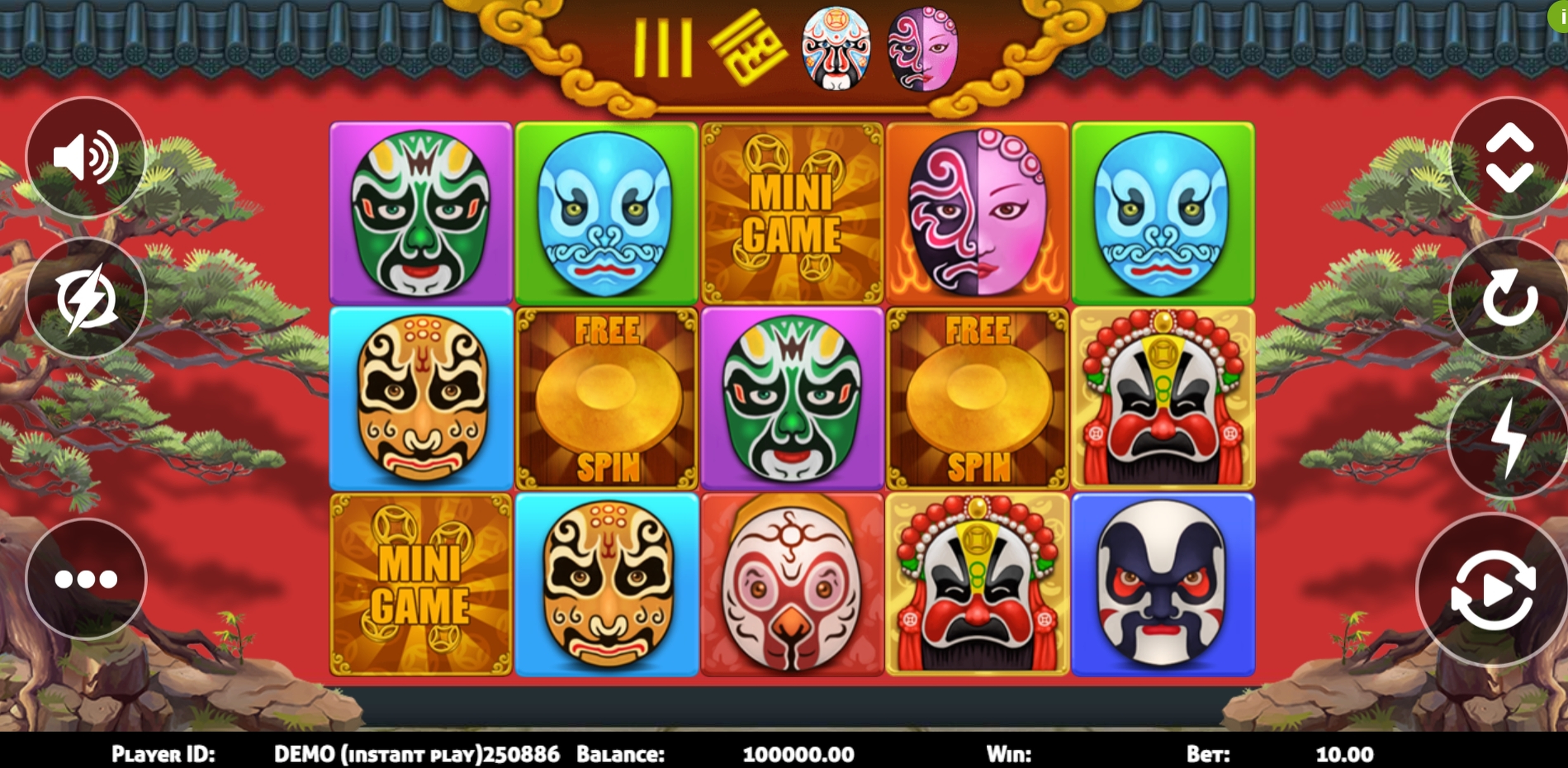 Reels in Face Slot Slot Game by Triple Profits Games