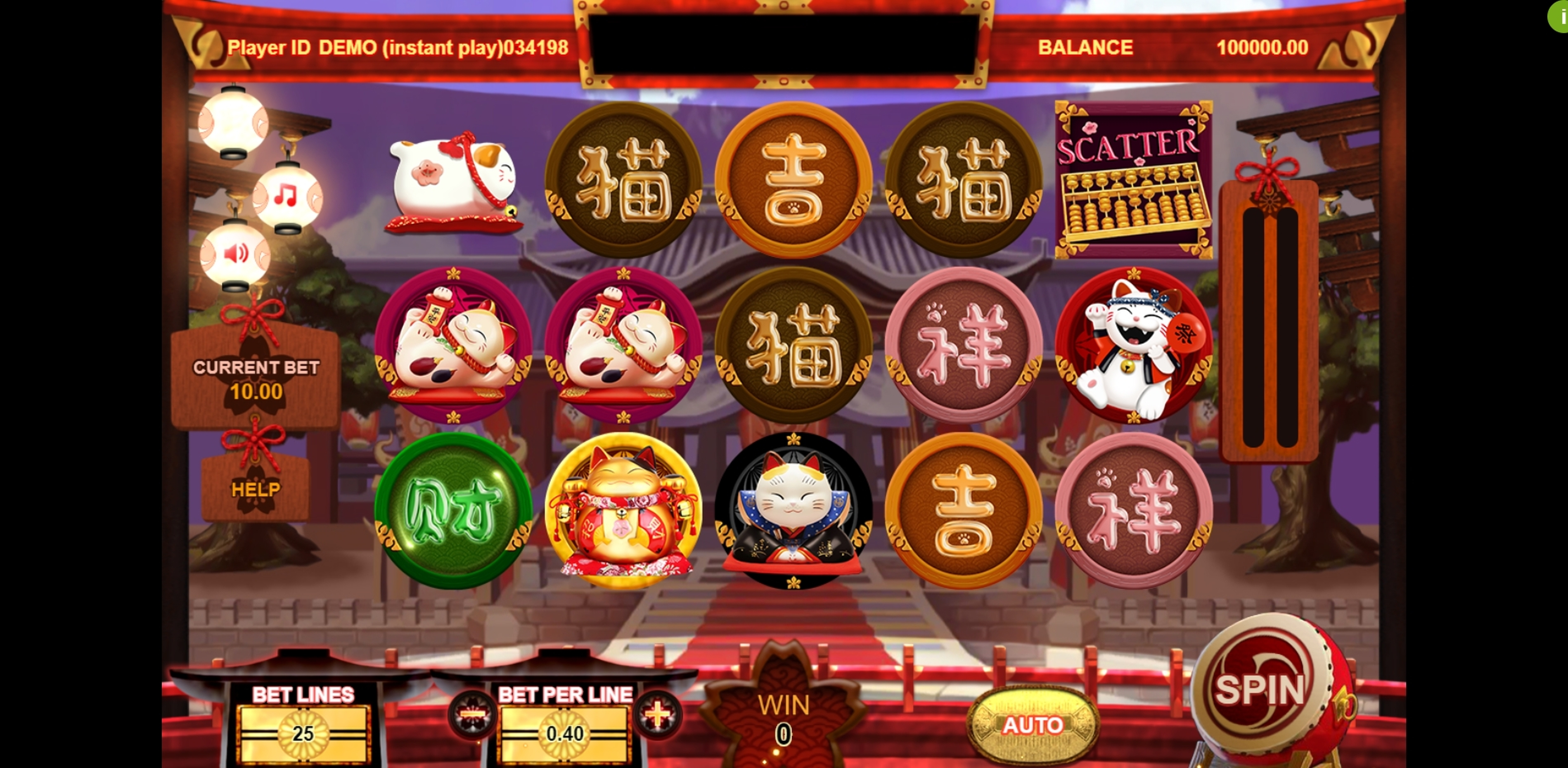 Reels in Fortune Cat (Triple Profits Games) Slot Game by Triple Profits Games