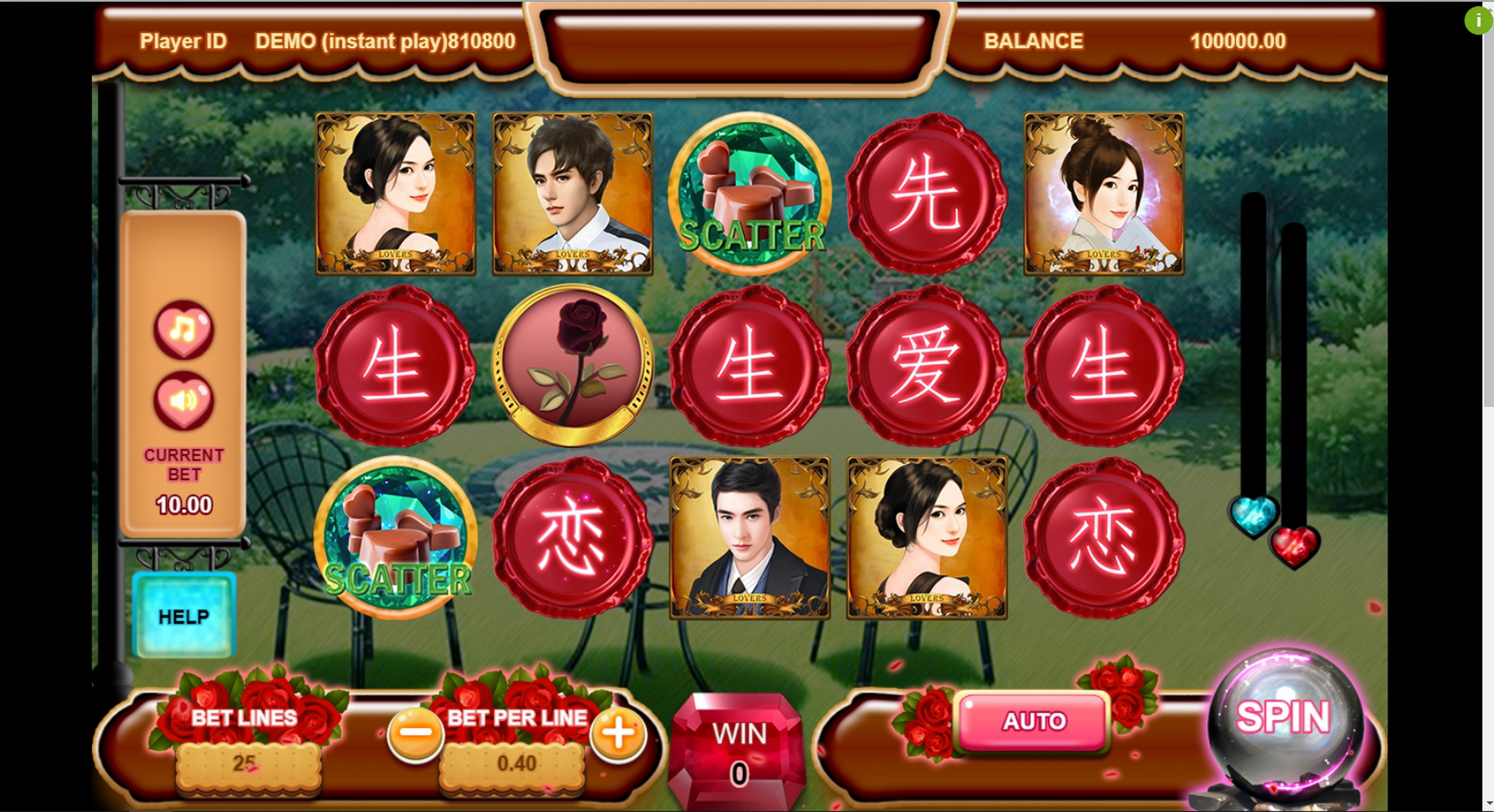 Reels in Gentlemen Slot Game by Triple Profits Games