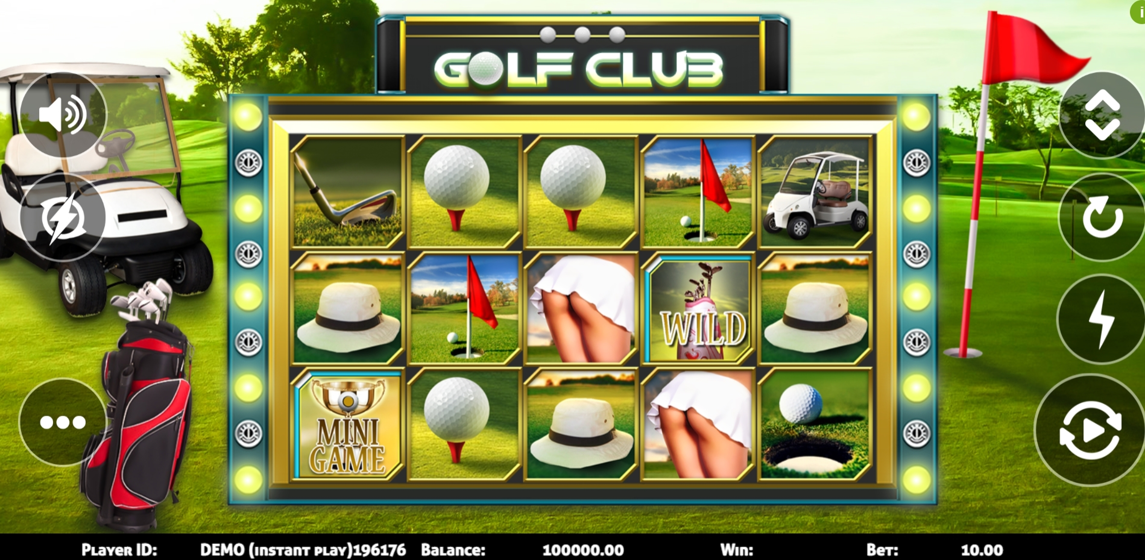 Reels in Golf Club Slot Game by Triple Profits Games
