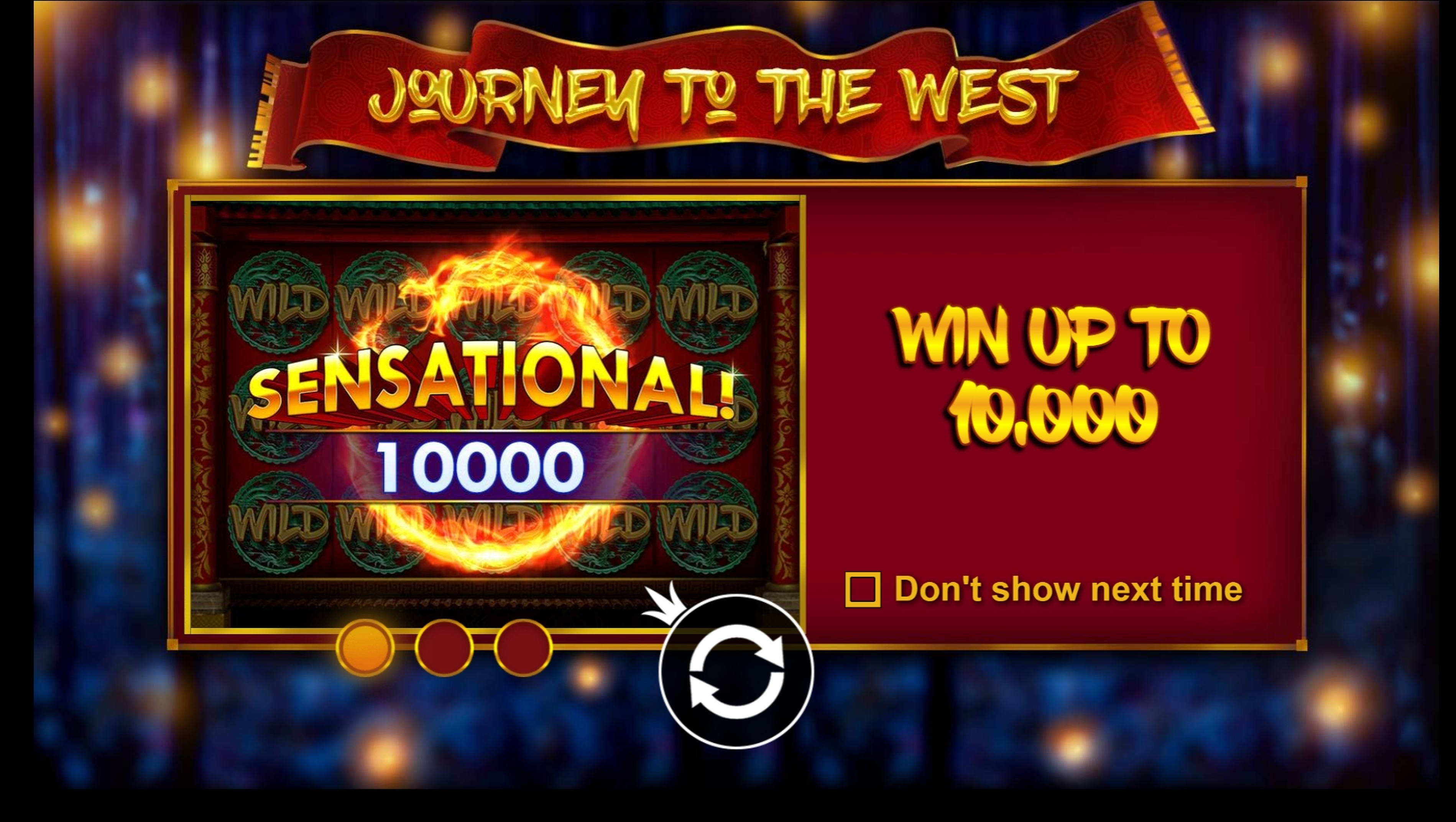 Play Journey to the West (Triple Profits Games) Free Casino Slot Game by Triple Profits Games