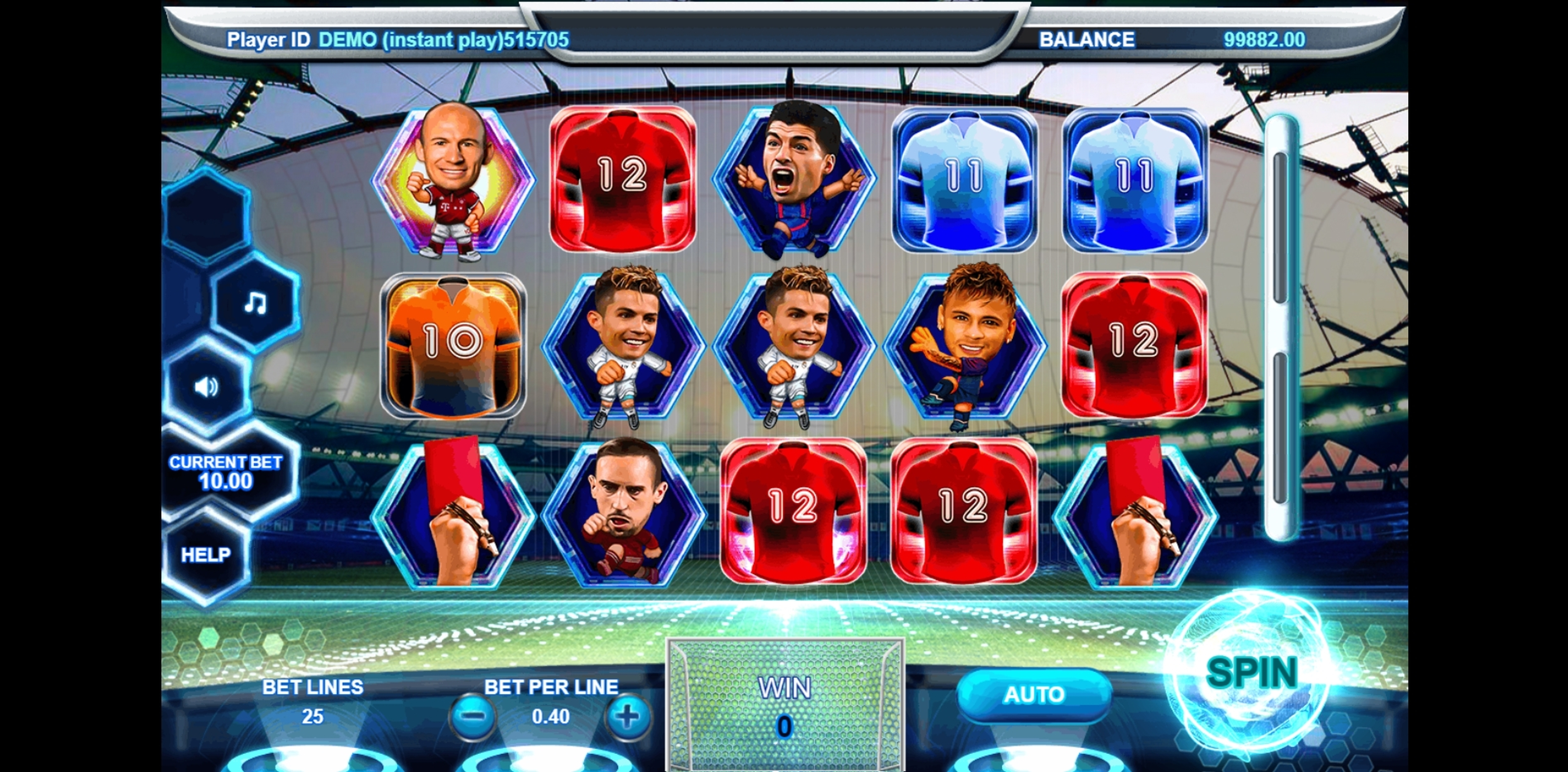 Reels in Soccer All Star Slot Game by Triple Profits Games