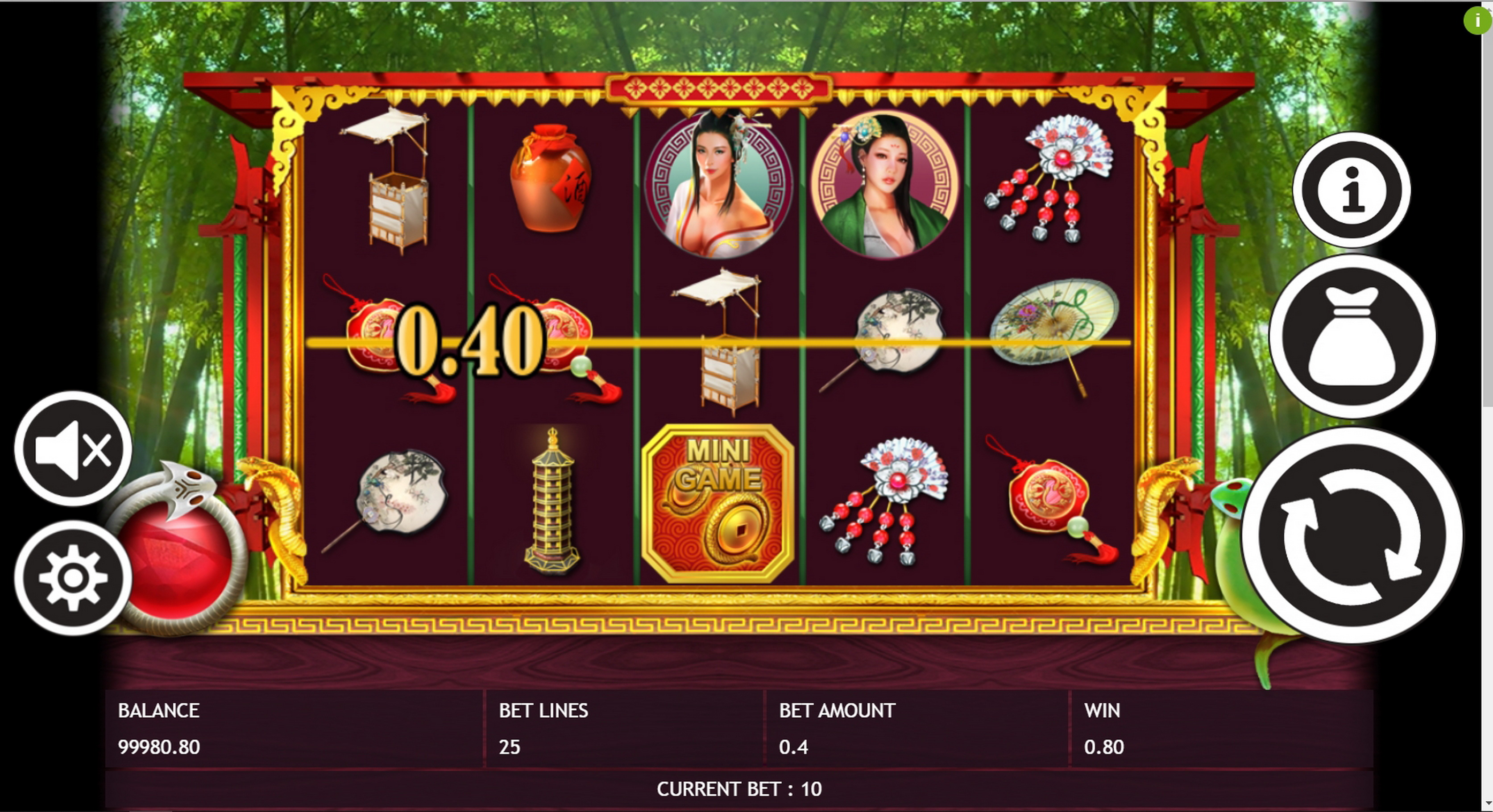 Win Money in The White Snake Free Slot Game by Triple Profits Games