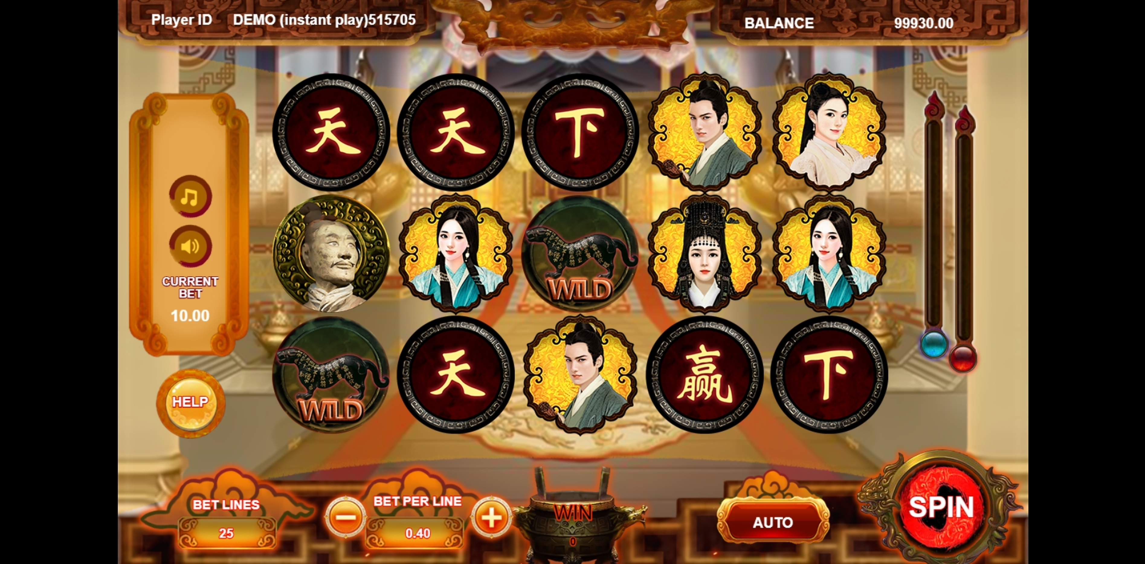 Reels in Win The World Slot Game by Triple Profits Games