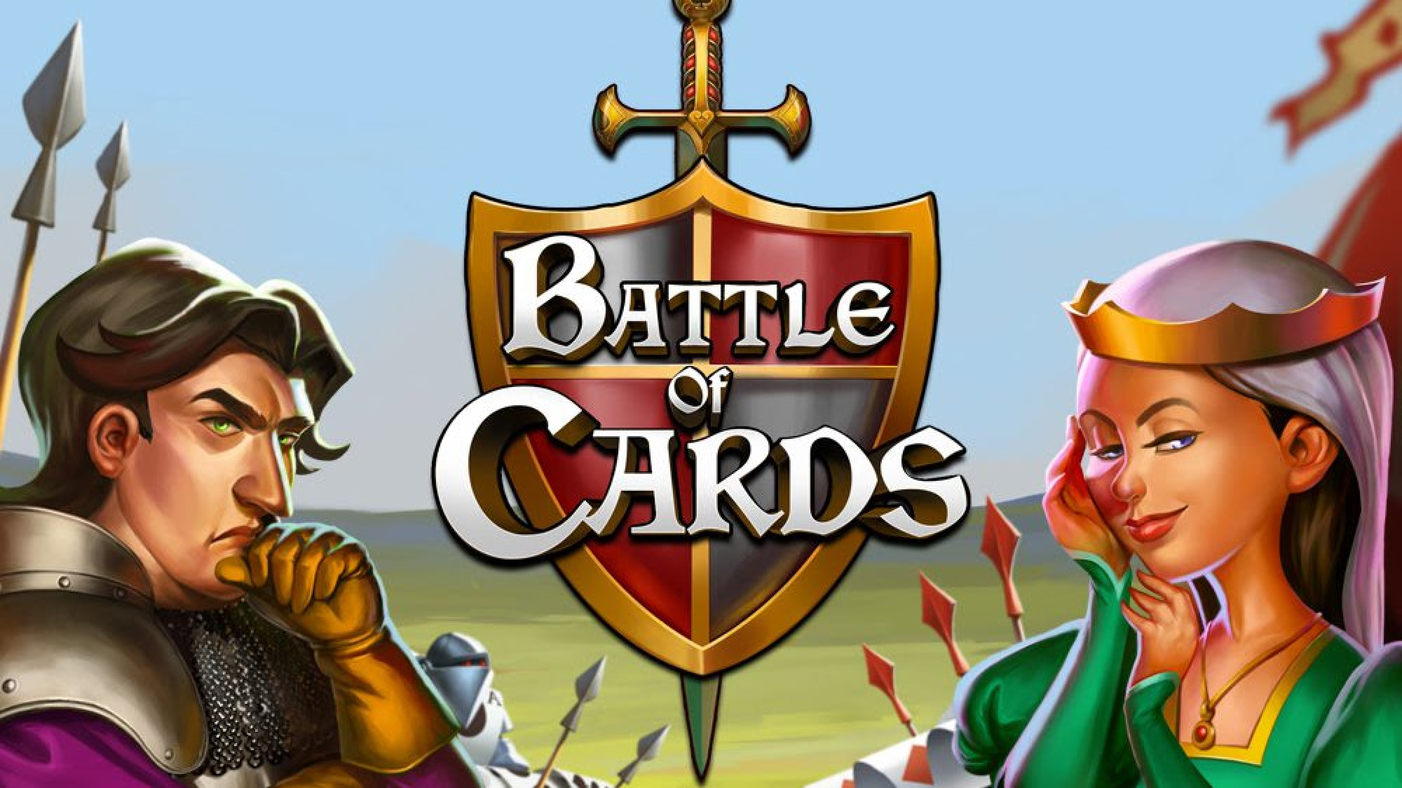 The Battle of Cards Online Slot Demo Game by We Are Casino