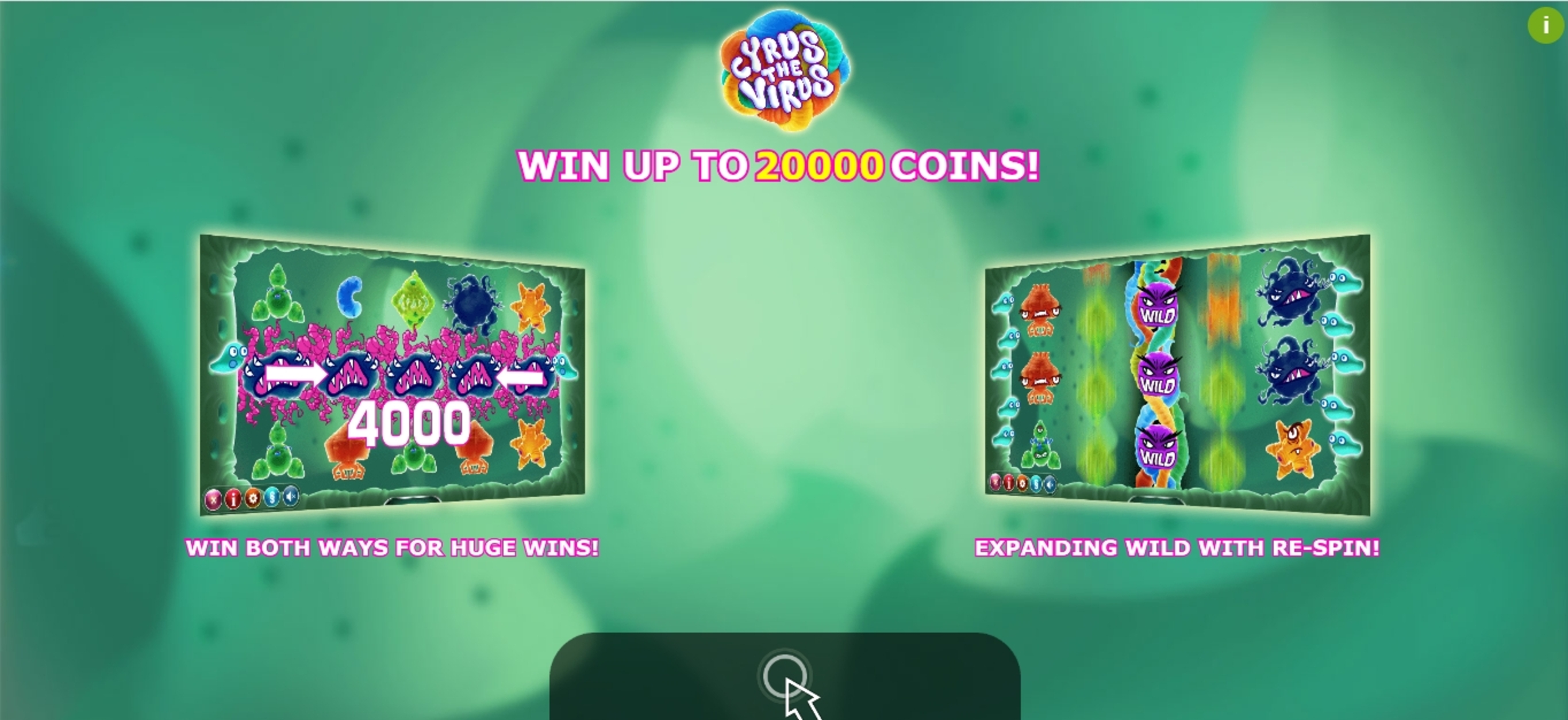 Play Cyrus the Virus Free Casino Slot Game by Yggdrasil